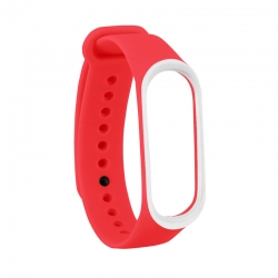 Ремешок Xiaomi Mi BAND 3 Red-White