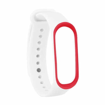 Ремешок Xiaomi Mi BAND 3 White-Red