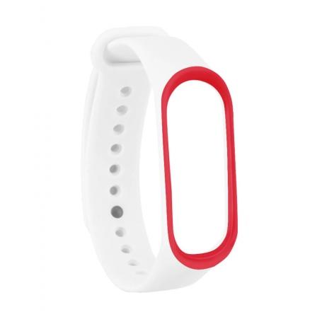 Ремінець Xiaomi Mi BAND 3 White-Red