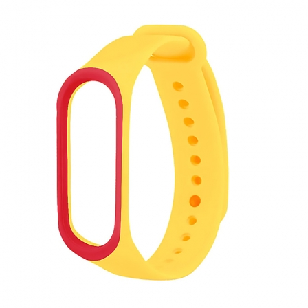 Ремінець Xiaomi Mi BAND 3 Yellow-Red