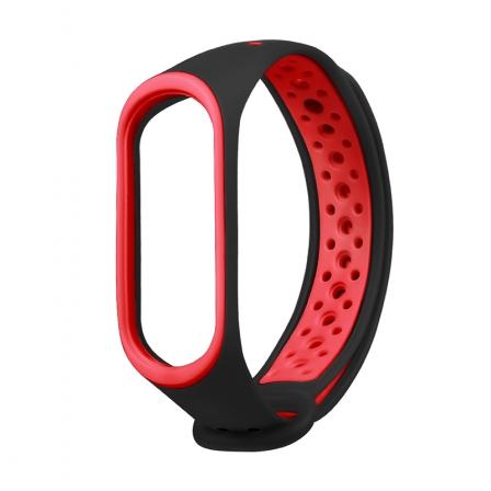 Ремешок Xiaomi Mi BAND 3 Black-Red