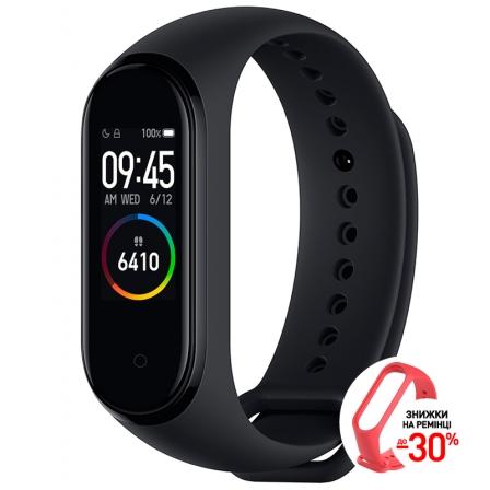 Оригинальный фитнес-браслет Xiaomi Mi Smart Band 4 EU Black