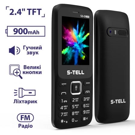 S-TELL S3-01 Black