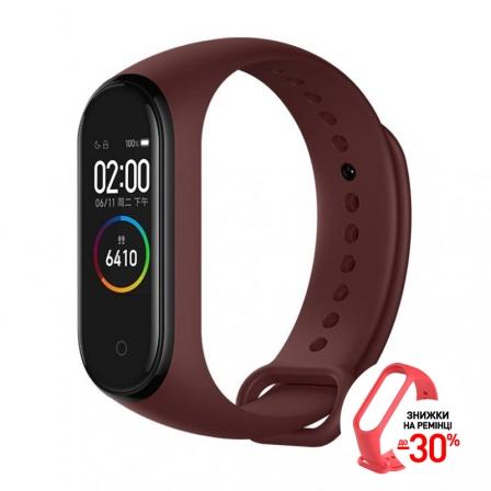 Оригінальний фітнес-браслет Xiaomi Mi Smart Band 4 Red