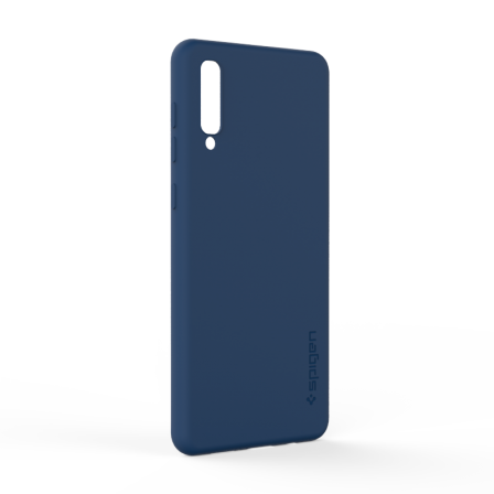 Чохол-накладка Spigen Samsung A50 Dark Blue