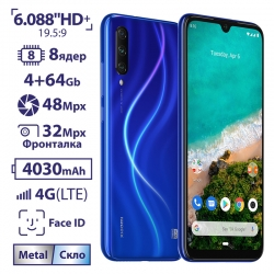 Xiaomi A3 4/64 Gb EU, Not just Blue