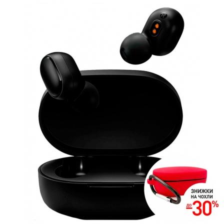 Оригинальны наушники Xiaomi Redmi AirDots ZBW4480GL Black EU