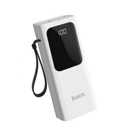 Зовнішній акумулятор Hoco J41 White 10000mA