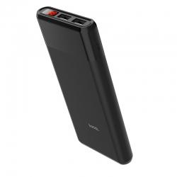 Зовнішній акумулятор Hoco B35C Black 12000mAh