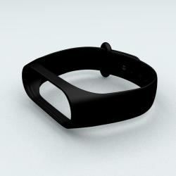 Ремінець Xiaomi Mi Band 3 і Mi Band 4 Black