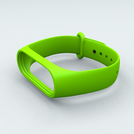 Ремінець Xiaomi Mi Band 3 і Mi Band 4  Green