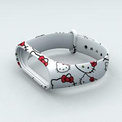 Ремешок Xiaomi Mi Band 3 и Mi Band 4 Hello Kitty