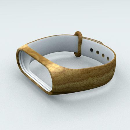 Ремінець Xiaomi Mi Band 3 і Mi Band 4 Wood
