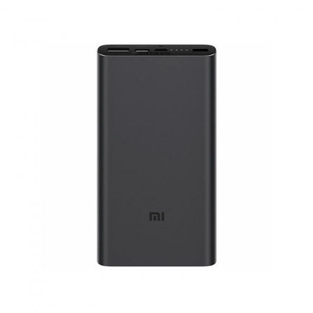 Внешний аккумулятор (Power Bank) Xiaomi Mi Power bank 3 10000mAh Black PLM13ZM