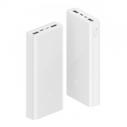 Зовнішній акумулятор Mi Power bank 3 20000mAh 18Wh white VXN4258CN PLM18ZM