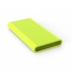 Чехол Mi Power Bank  2S 10000 mAh/Mi 3 Lime
