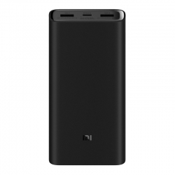 Зовнішній акумулятор (Power Bank) Xiaomi Mi Power Bank 3 Pro 20000mAh (PLM07ZM)