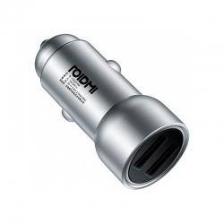 Автомобільний зарядний пристрій Roidmi Car Charger Silver (CDQ01RM)