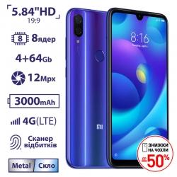 Xiaomi Mi Play 4/64GB Blue (Уценка)
