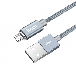 Адаптер HOCO Magnet U40A Micro Grey