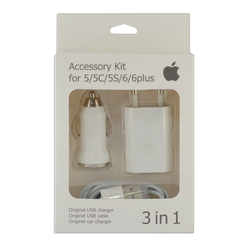 Зарядный комплект для iPhone 5
