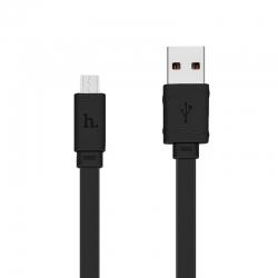 Адаптер USB HOCO X5 Micro USB Black