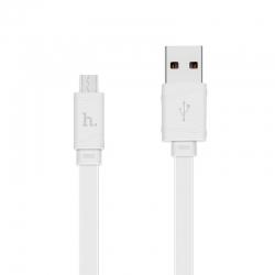 Адаптер USB HOCO X5 Micro USB White
