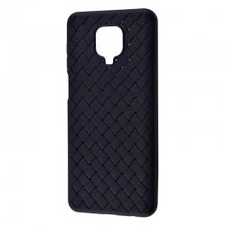 Чехол Weaving: Xiaomi Redmi Note 9S / 9 Pro Blue