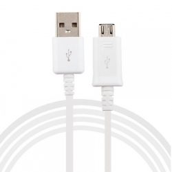 Original Cable Samsung S4 White
