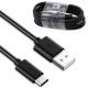 Original Cable Samsung S8 Type-C Black