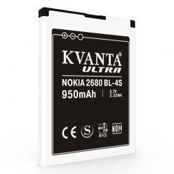 Аккумулятор Nokia  BL-4S 950 mAh