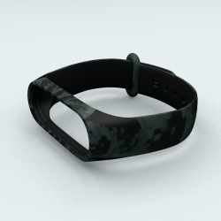 Ремінець Xiaomi Mi Band 5 Military Green