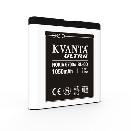 Аккумулятор Nokia BL-6Q 1050 mAh