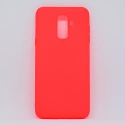 Чехол-накладка Samsung A6 Plus  Red