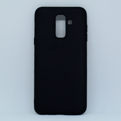 Чохол-накладка Samsung A6 Plus Black