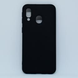 Чохол-накладка Samsung A40 Black