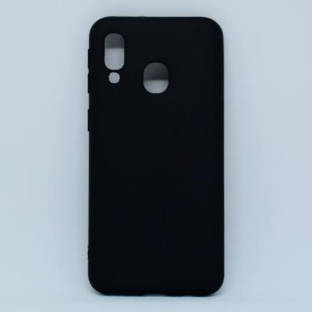 Чехол-накладка Samsung A40 Black