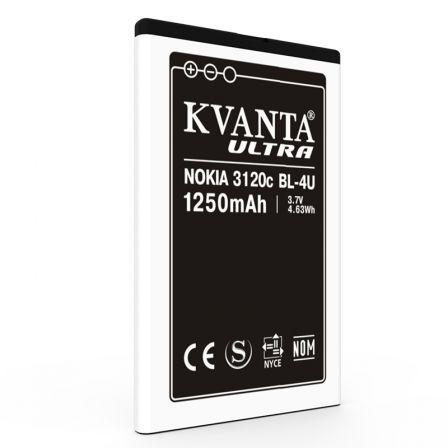 Аккумулятор Nokia BL-4U 1000 mAh