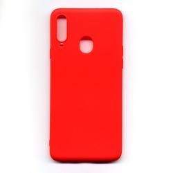 Чохол-накладка Samsung A20S Red