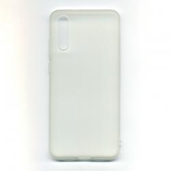 Чехол-накладка Samsung A20S Clear