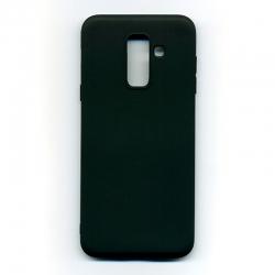 Чехол-накладка Samsung A6 Plus Black