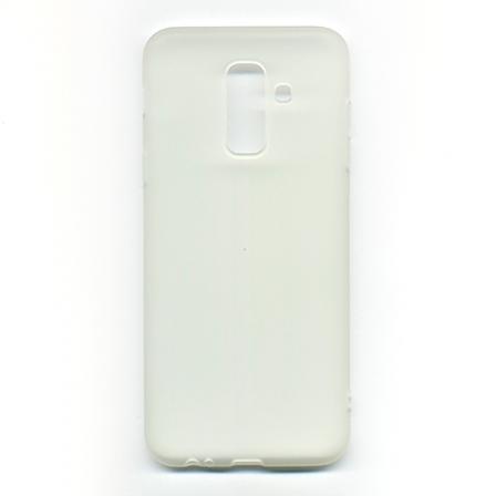 Чехол-накладка Samsung A6 Plus White
