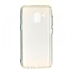 Чехол-накладка Samsung A8 2018 Clear