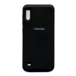 Чохол-накладка Strong Case Samsung Galaxy A10 Black