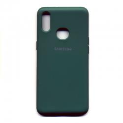 Чехол-накладка Strong Case Samsung Galaxy A10s Green
