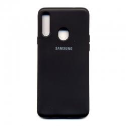 Чехол-накладка Strong Brand Samsung Galaxy A20s Black
