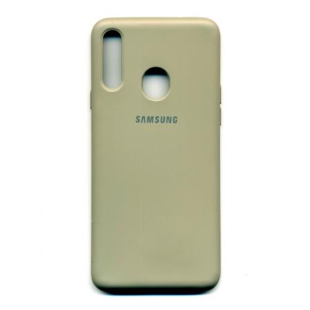 Чехол-накладка Strong Brand Samsung Galaxy A20s Grey