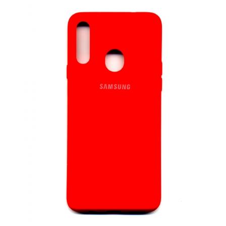 Чехол-накладка Strong Brand Samsung Galaxy A20s Red