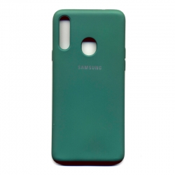 Чехол-накладка Strong Brand Samsung Galaxy A20s Green