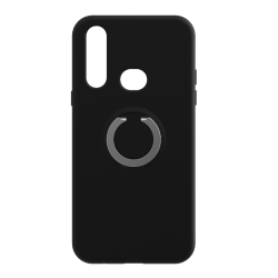 Чохол-накладка TPU Bran ring Xiaomi Redmi Note 8 Black